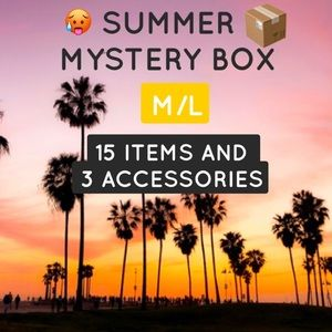 SUMMER MYSTERY BOX 15 ITEMS 3 ACCESSORIES MED/LG